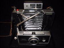 Vintage Polaroid 250 Land Camera & Strap - Zeiss Icon Viewfinder