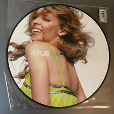 """KYLIE MINOGUE """"I BELIEVE IN YOU"""" Limited Edition 12"""" Picture Disc - like new"""