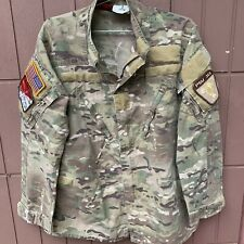 DRIFIRE FR Combat Shirt Multicam Camo.Size L R.Very Good Used.With Patches.