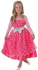 Concurso de Barbie Menina Crianças Fantasia de Halloween Manga Comprida Vestido Idade...