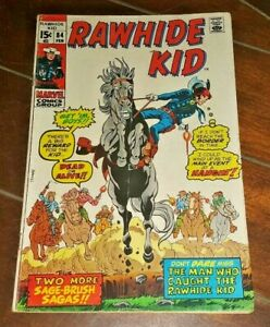 Rawhide Kid #84, (1971, Marvel): When Six-Guns Roar!