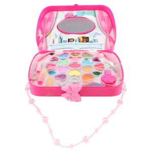 Cosmetic Jewelry Box Toy Cosmetic Make Up Pretend Play Set for Girls Dress Up
