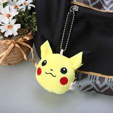 1pc Pokemon Pikachu Plush Dolls MIni kawaii Stuffed Toys Bag Charms keychain