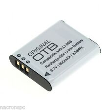 Batterie LI-90B LI-92B Olympus Stylus Traveller SH-1 SH-2 SH-50 SH-60 SP-100EE