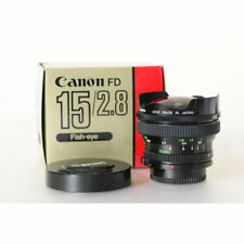 Canon FD 2,8/15 Fisheye/FISH-EYE/poisson yeux objectif 15 mm f/2.8 MF Objectivement