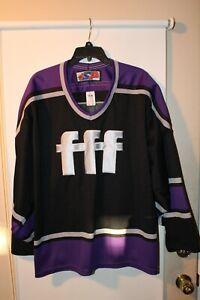 Vintage FIVE FOR FIGHTING FFF #5 John Ondrasik Large G L Hockey Jersey