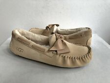 bf924f95e89 UGG Australia Flat (0 to 1/2 in.) Leather Slippers for Women   eBay