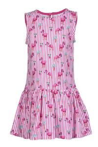 Eisend Kleider Kleid ärmellos festlich elegant Trägerkleid Pink Gr.122 146