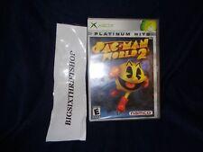 Pac-Man World 2 (Microsoft Xbox, 2002) BRAND NEW FACTORY SEALED