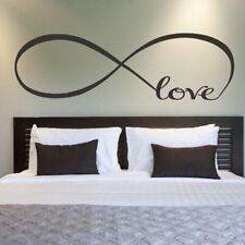 Wall Stickers Franterd Bedroom Decor Infinity Symbol Word Love Art Decal NEW