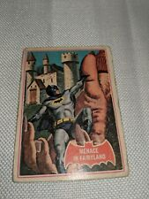 "BATMAN Card #43A ""MENACE IN FAIRYLAND"" 1966 National Periodical Publications"
