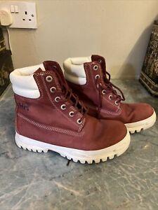 helly hansen Red Boots 6.5
