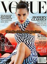 Australian Vogue 2/08,Jennifer Connelly,February 2008,NEW