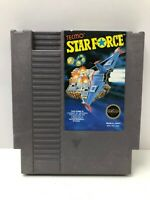 Authentic Genuine NES Nintendo Tecmo Star Force Starforce, Clean Colorox Wipes