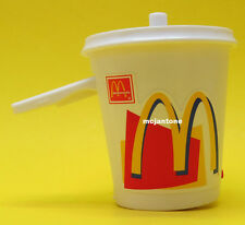 LOOSE McDonald's 1999 Food Foolers DRINK CUP TOY SIGNALER Signal CAKE TOPPER