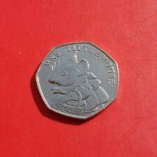 2018 Beatrix Potter 50p Coin Mrs Tittlemouse