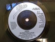 """ABBA – Super Trouper - Blue Injection Labels (S EPC 9089) 7"""" Vinyl Single Epic"""