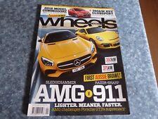 WHEELS CAR MAGAZINE - SEPTEMBER 2015