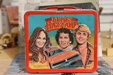 THE DUKES OF HAZZARD1980  VINTAGE LUNCH BOX WITH THERMOS