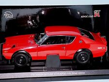 NISSAN SKYLINE 2000 GT-R KPGC110 RED KYOSHO  08251R  1:18