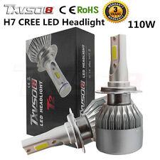 110W H7 CREE 20000LM Phare LED Ampoule Light Headlight Kit 6000K Voiture Feux