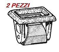 Graffetta fissaggio proiettori Alfa Romeo 33 - 1 coppia