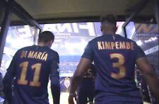 Flocage Nameset Paris PSG Finale Coupe de la ligue Neymar Cavani Mbappe Di Maria