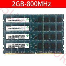 Ramaxel 8GB 8G 4x 2GB PC2-6400U DDR2 800MHz RAM intel CPU DIMM Desktop Memory
