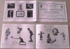 Mascotte Album des sujets artistiques pour Bouchons de Radiateurs en Bronze 1923