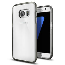[Spigen Outlet] Galaxy S7 [Neo Hybrid Crystal] Gunmetal Clear Bumper Slim Case