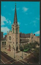 HOLY NAME CATHEDRAL Chicago 1964 Lithograph Chrome PC by Dexter Press Inc UNUSED