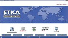 ETKA 8 & 7.5 Plus 2017 VW Volkswagen Audi Skoda Seat Parts Catalog