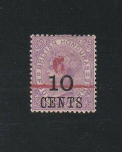 ES-15147 British Honduras Scott 34 LH Victoria 1891