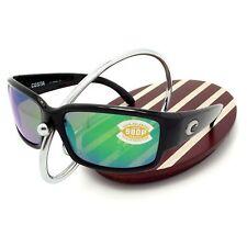 NEW Costa Del Mar CABALLITO Black & 580 Green Mirror Plastic 580P