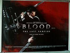 Cinema Poster: BLOOD THE LAST VAMPIRE AKA Rasuto buraddo 2009 (Quad) Gianna Jun