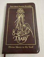 The Diary of St Maria Faustina Kowalska Divine Mercy Brown Leather 2014