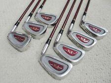 Ram FX Oversize Iron Set Golf Club 4-Iron to PW L-Flex Graphite Matching Serial