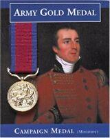 Army Gold Medal Wellington Napoleon 1812 Peninsular War Repro Miniature Schools
