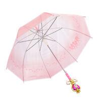 Sailor Moon Girls Cute Umbrella Magic Stick Long Handle Japan Anime Cosplay Gift