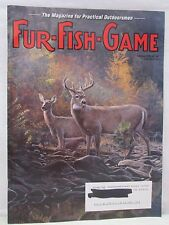 Fur Fish Game Magazine October 2005 White Tailed Deer Cover Alaskan Wolf Music