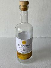 1 Empty Yellow Spot 12 Yr Single Pot Still Irish Whiskey Bottle 750Ml W/Cork