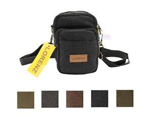 Canvas Flight Messenger Shoulder Bag Cross body Handbag Small Bag Simple Style