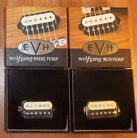 EVH® Wolfgang Bridge & Neck Pickup Set~ZEBRA~0222137002~0222137001~USA~Brand New