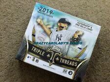 2019 Topps Triple Threads Baseball Hobby Box  FREE SAME DAY PRIORITY SHIPPING