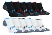 Storm Bloc - 6 Pairs Mens Cotton Breathable Cushioned Low Cut Ankle Socks