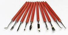 Wax Carving Tools Set of Carvers 10pc Jewelry Wax Carvers Metal Clay Sculpting