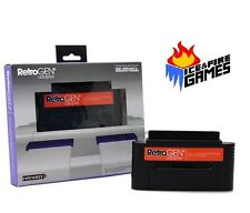 New RetroGEN 16-Bit Adapter - Play Sega Genesis Games on SNES Super Nintendo -
