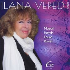 Ilana Vered - Mozart Haydn Faure & Ravel [New CD]