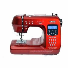 Necchi Rosso 200 Quilting Edition Sewing Machine Fully Computerised Info Screen
