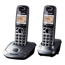 Telefono Fijo Panasonic KX-TG2512 Gris Original Nuevo
